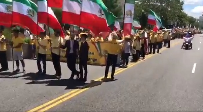June 21, March for regime change in Iran by supporters of the MEK in Washington D.C.