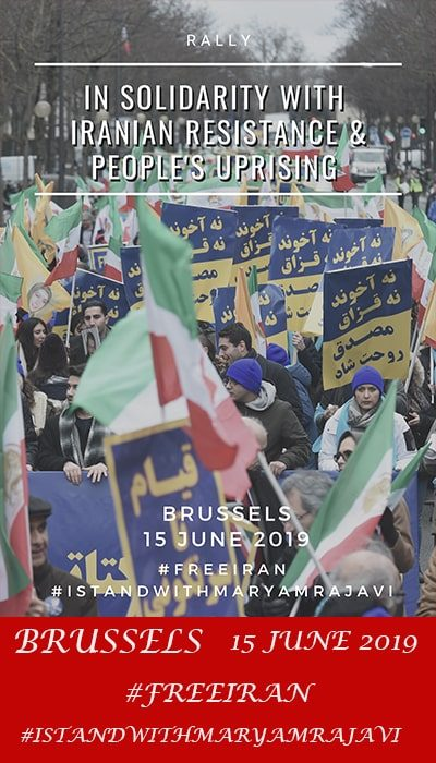Brussels Free Iran rally-June 2019