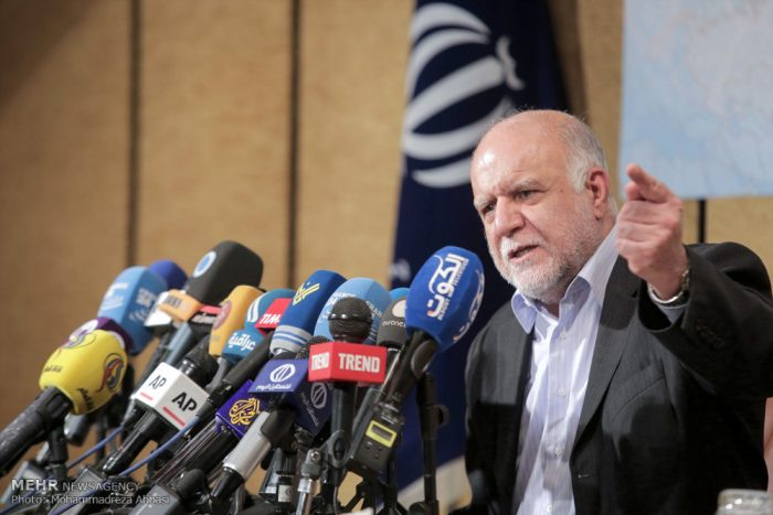 Zanganeh, Iranian regime's Oil Minister