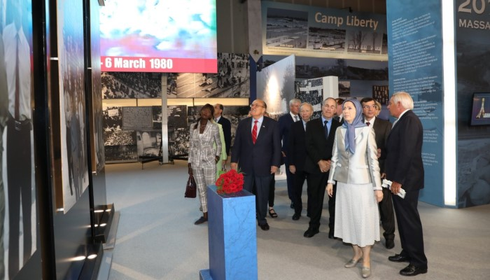 120 Years of Struggle by Iran's People for Freedom - MEK Opposition conference in Albania Ashraf-3