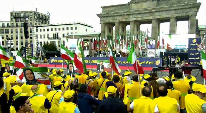 Free Iran Rally Berlin