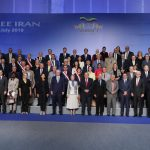 Maryam Rajavi joins dignitaries at the opening of a 5-day conference at MEK's compound