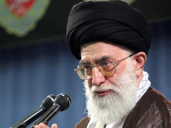 Ali Khamenei, the top mullah responsible for the crimes against humanity in Iran
