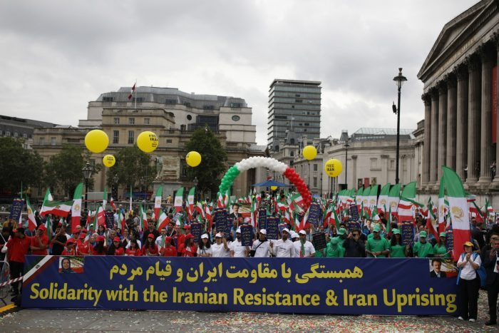 MEK supporters rally in London-July 2019