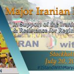 Stockholm Free Iran rally