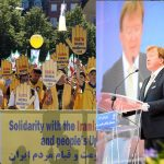 Former MP from Ireland, speaking at MEK's Free Iran rally in Stockholm