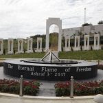 The Monument of the MEK martyrs - Ashraf 3 - Albania