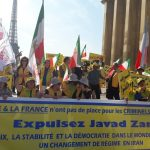 Iranian's rally in France