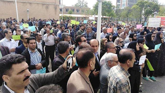 protest in Iran