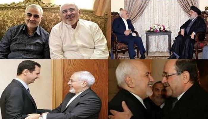 Zarif visiting dictators and terrorists