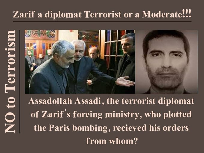 terrorist activity of Iranian regime's diplomacy