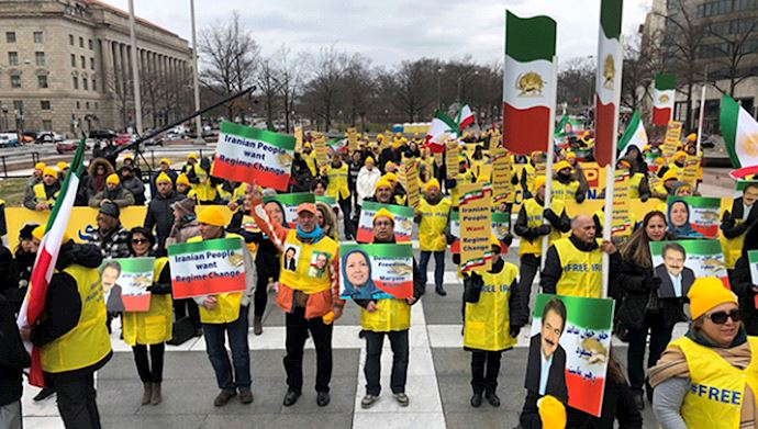 rally against Iranian regime