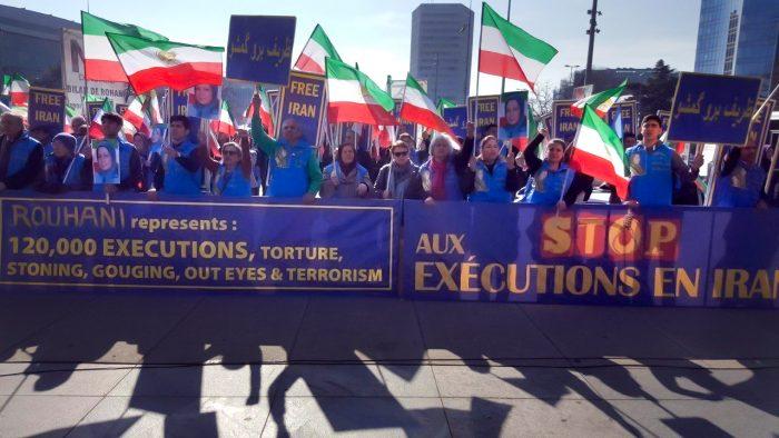 Justice for the 1988 Massacre victim's rally-Geneva