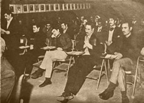 Trial of MEK members in1972