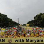 Tens of thousands of MEK supporters in Berlin Free Iran Rally