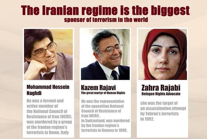 victims of Iranian regime's terrorism