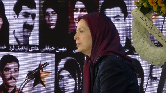 Maryam Rajavi, the President-elect of NCRI