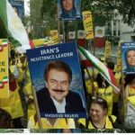 MEK protests in US againest Rouhani