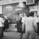 MEK supporters arrested by Iranian regime repressive forces during demonstration