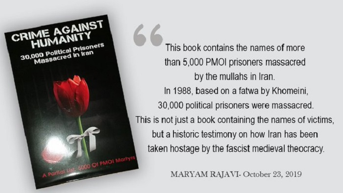 New published book on the names of 1988 massacre
