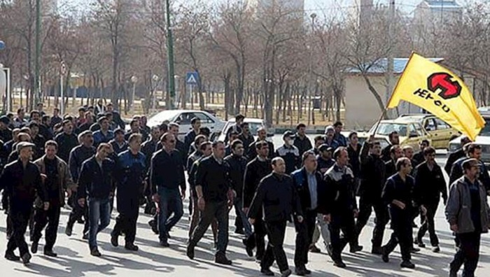 Protest of HEPCO's workers