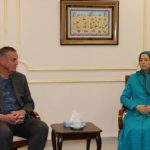 General James Jones meets Mrs. Rajavi, visits Ashraf-3