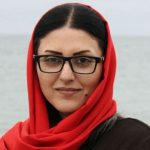 Former political prisoner Golrokh Iraee