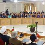 Maryam Rajavi, chairs an internal session of NCRI's members in Paris