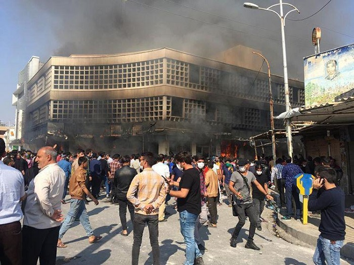 petrol price uprisins in iran