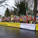 MEK fans rally in solidarity with Iran Protests-Berlin, November 26, 2019
