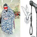 Fatemeh_R hanged in Gohardasht Prison