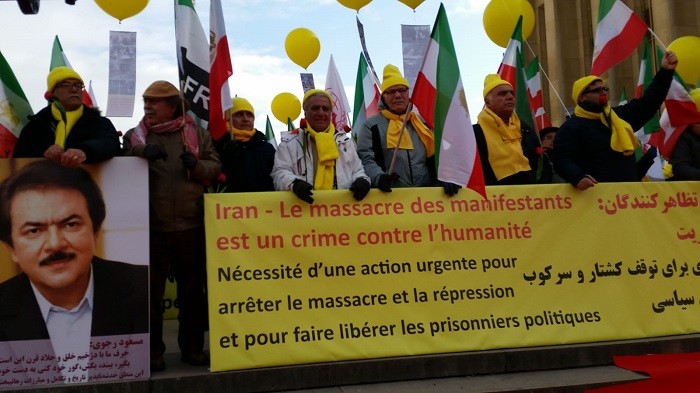 Iranian rally in Paris