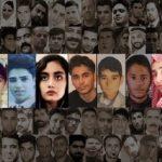 Iran uprising's victims