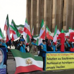 Iran Protests Solidarity rally by MEK supporters in Paris-December 26, 2019