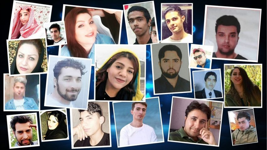 Some of the Iran Protest's Martyrs' photos