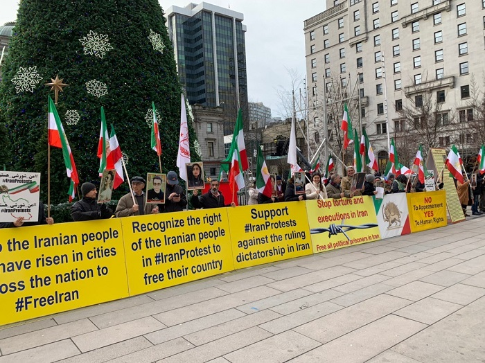 Iranian's rally in Canada