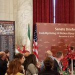 US Senate briefing on Iran protests