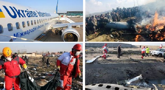 Air crash in Iran