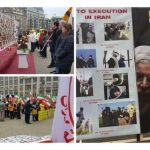Iranian rally in Netherlands