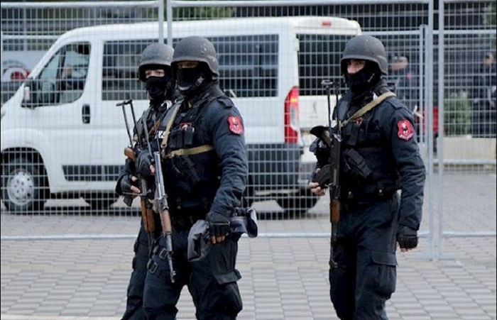 Albanian security forces