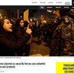 Amnesty report on Iran Protests