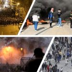 Protests in Iran and Iraq
