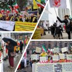 MEK fans rally in solidarity with Iran Protests
