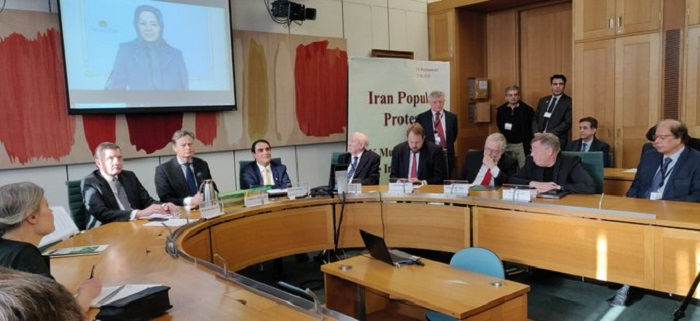The UK parliamentary conference in support of Iran Protests-January 21, 2020