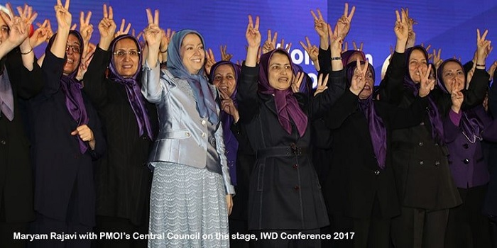 Women in leadership in Iranian resistance