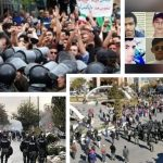 Crack down in Iran Protests