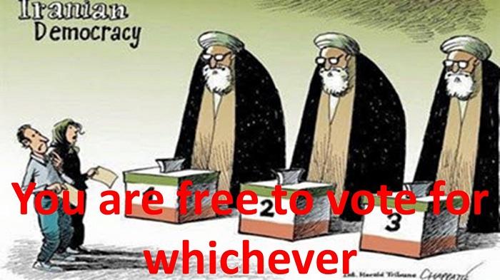 Iran Sham election