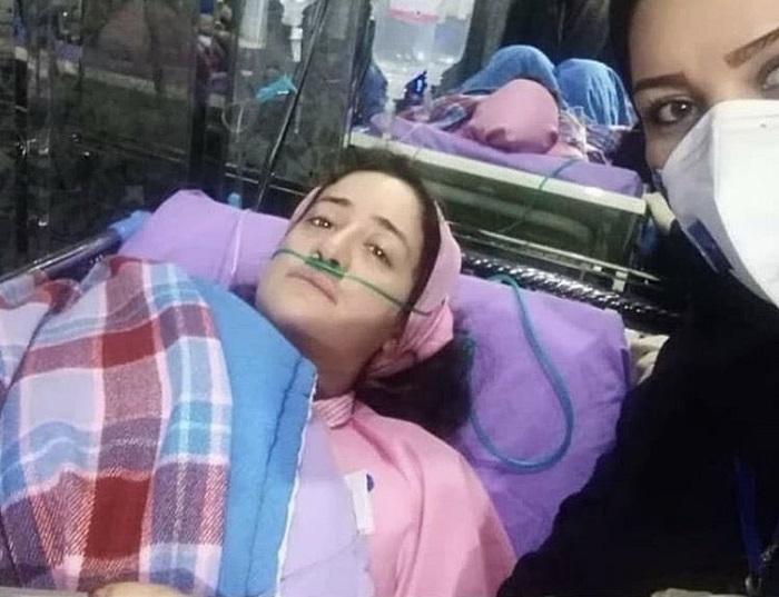 Nurse Narges Khanalizadeh