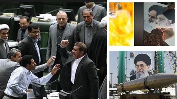 Regime's crises
