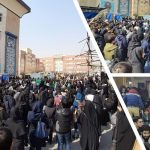Students protest in Iran